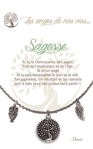 Open image in slideshow, Sagesse: Necklace
