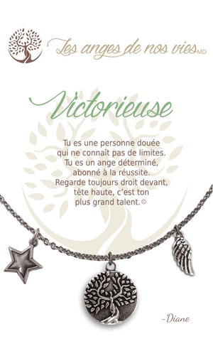 Open image in slideshow, Victorieuse: Necklace