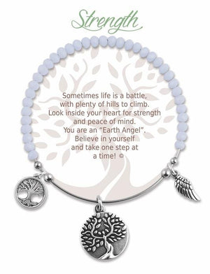 Open image in slideshow, Strength: Radiant Stone Bracelet