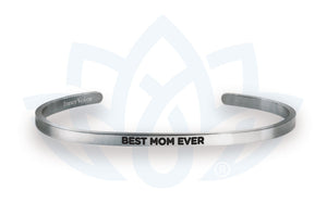 Open image in slideshow, Best Mom Ever: Cuff Bracelet