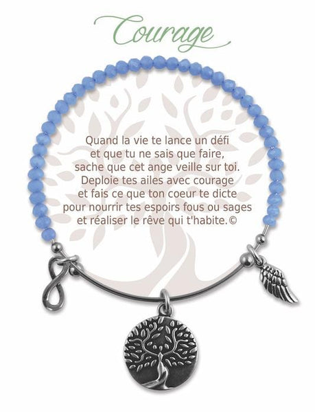 Courage :: Radiant Stone Bracelet