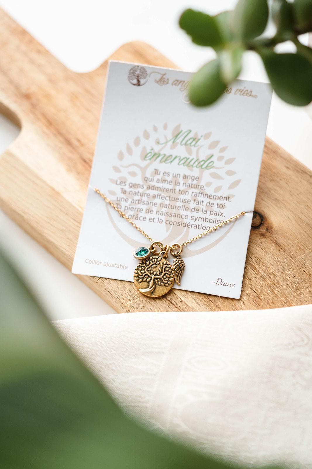Birthday Blessing: Charm Necklace