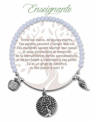 Open image in slideshow, Enseignante: Radiant Stone Bracelet