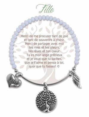 Open image in slideshow, Fille: Radiant Stone Bracelet