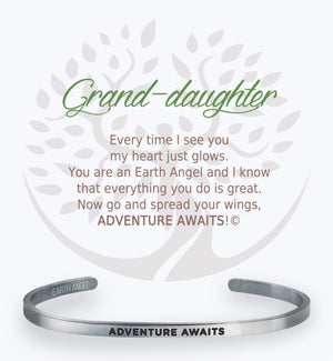 Open image in slideshow, Grand-daughter: Cuff Bracelet
