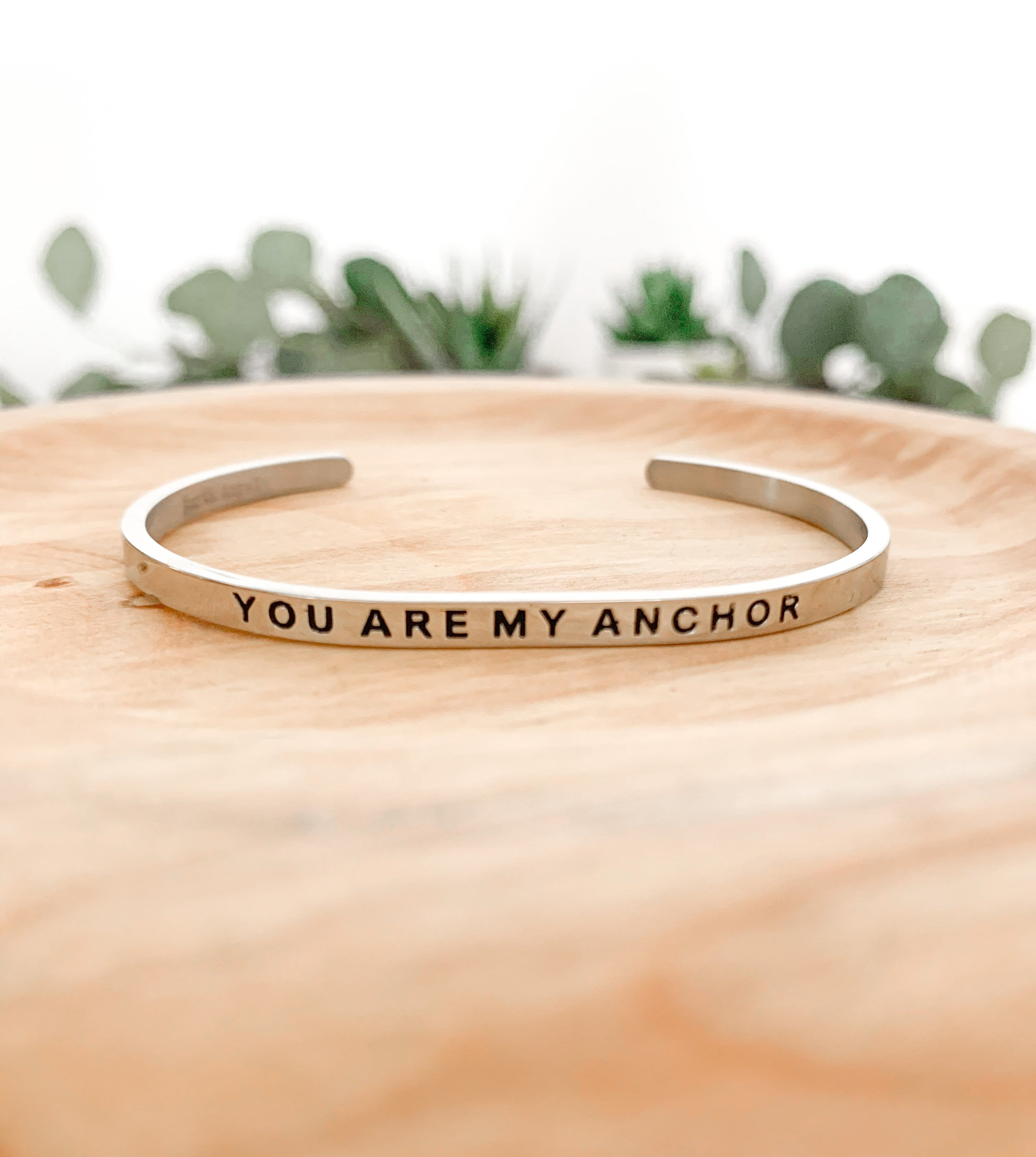 Be Humble and Kind: Cuff Bracelet