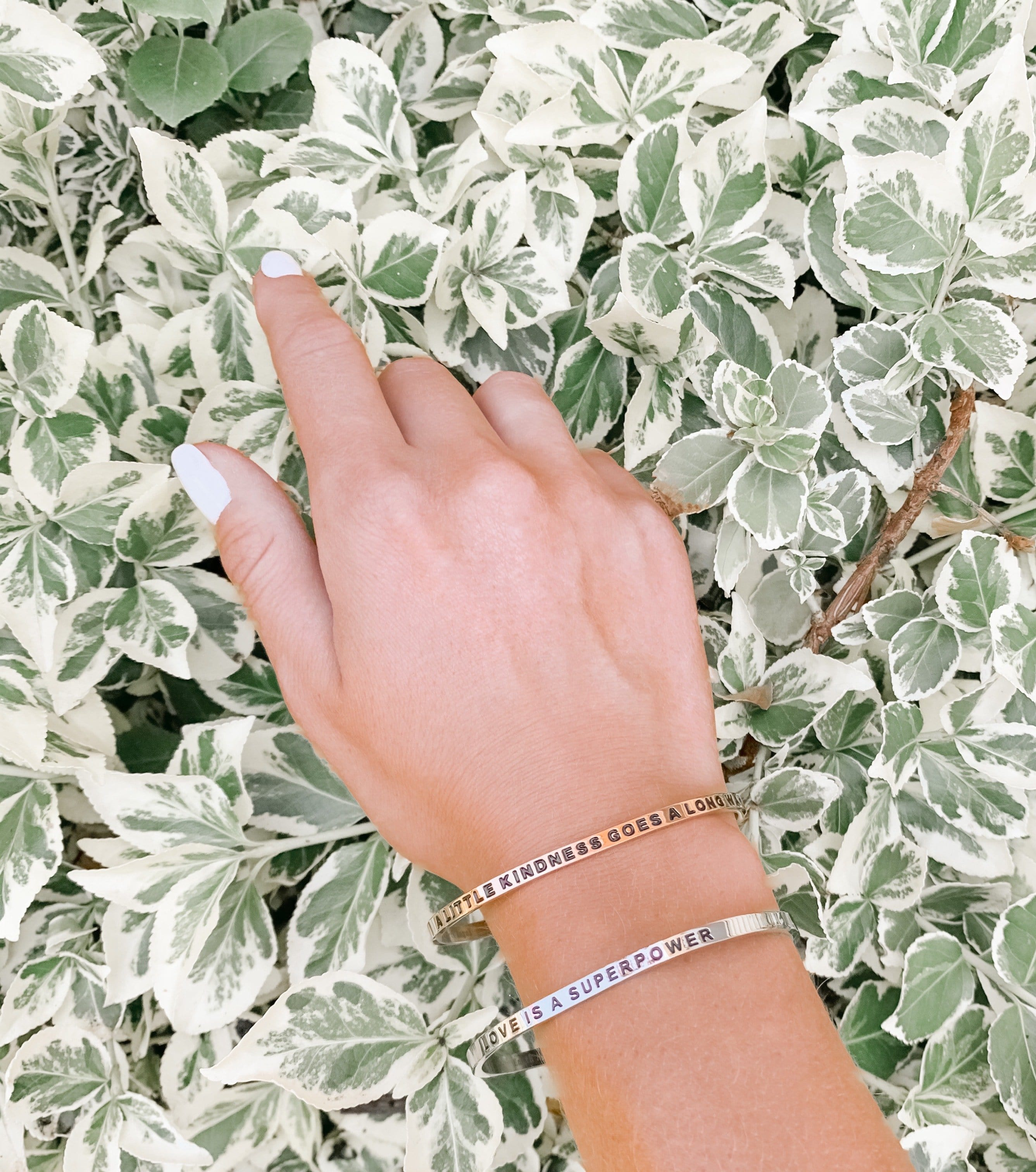 Be Mindful: Cuff Bracelet
