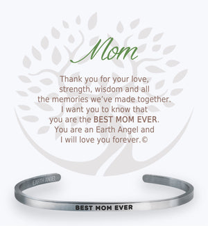 Open image in slideshow, Mom: Cuff Bracelet