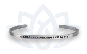 Open image in slideshow, Prends les commandes de ta vie: Bracelet