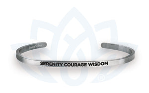 Open image in slideshow, Serenity Courage Wisdom: Bracelet
