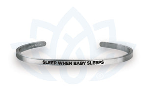 Open image in slideshow, Sleep When Baby Sleeps: Bracelet