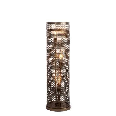 Lit-Mesh Test 22.25 in. New Bronze Table Lamp
