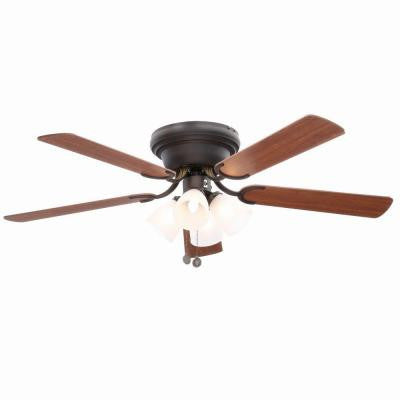 Contempra IV 52 in. Oil Rubbed Bronze Ceiling Fan