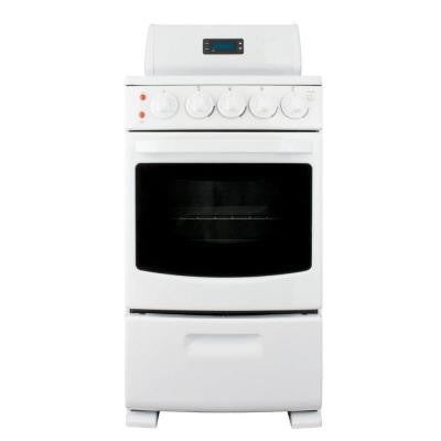 20 in. 2.62 cu. ft. Electric Range in White