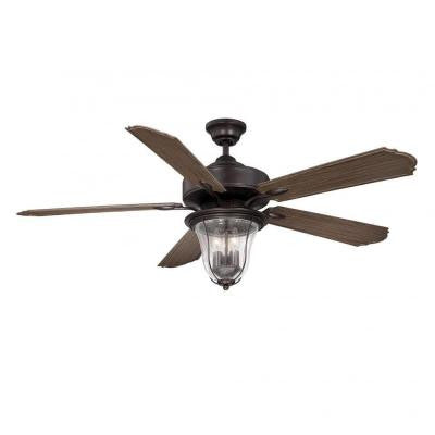 Avatar 52 in. English Bronze Indoor Ceiling Fan