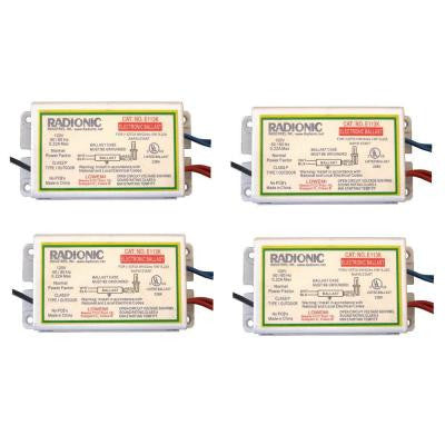 13-Watt 1-Lamp Circline Normal Power Factor Electronic Replacement Ballast (4-Pack)