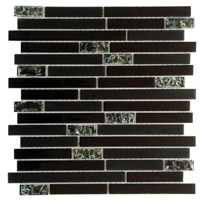 Upscale Designs 12 in. x 13 in. x 4 mm Glass Mesh-Mounted Mosaic Tile