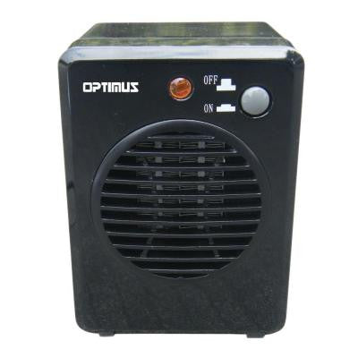 300-Watt Ceramic Mini Portable Heater- Black