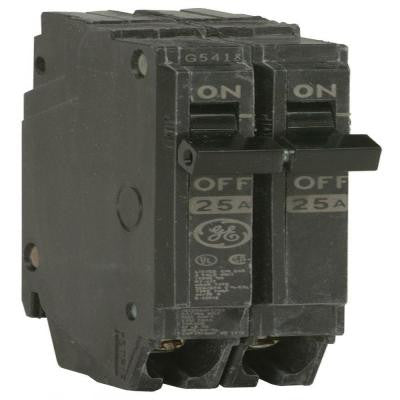 Q-Line 25 Amp 1 in. Double Pole Circuit Breaker