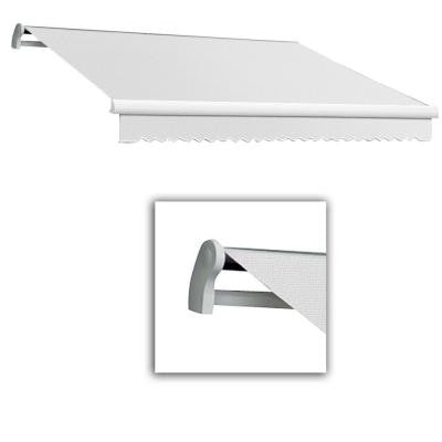 10 ft. LX-Maui Manual Retractable Acrylic Awning (96 in. Projection) in Off White