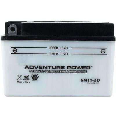 Conventional Wet Pack 6-Volt 11 Ah Capacity F Terminal Battery