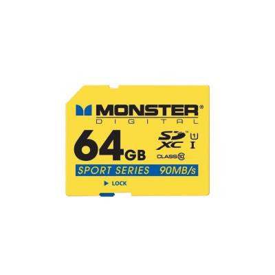 Sport90 64GB SXHC Full Size SD Card