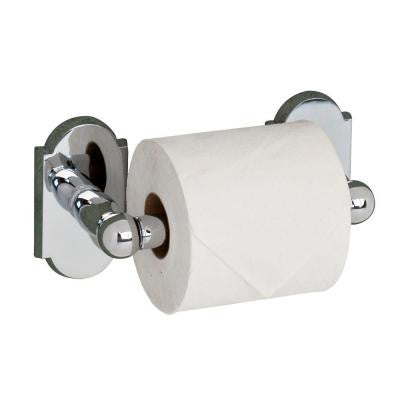 Abril Single Post Toilet Paper Holder in Chrome