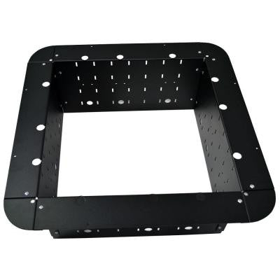 36 in. Steel Square Fire Pit Insert