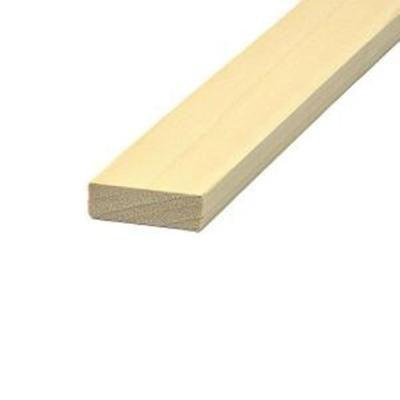 1 in. x 3 in. x 6 ft. Poplar Board