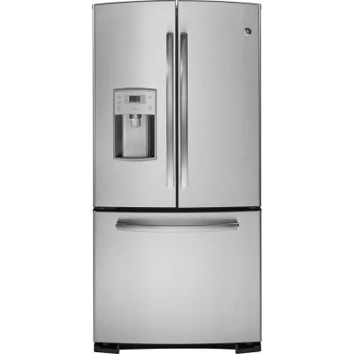 Profile 22.8 cu. ft. French Door Refrigerator in Stainless Steel