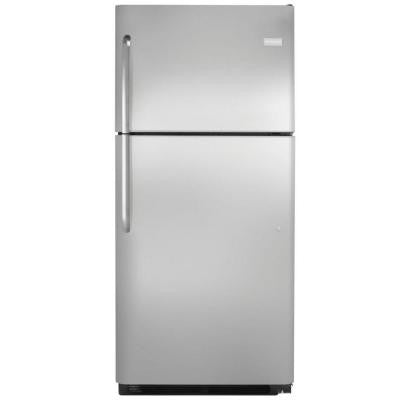 20.4 cu. ft. Top Freezer Refrigerator in Stainless Steel, ENERGY STAR