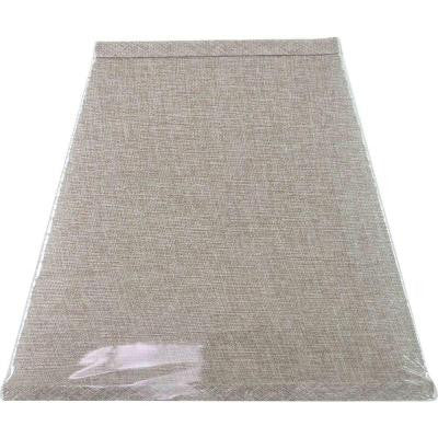 Mix & Match Textured Oatmeal Linen Square Table Shade