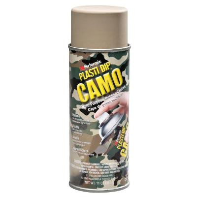 11 oz. Tan Camo Rubber Coating Spray (6-Pack)