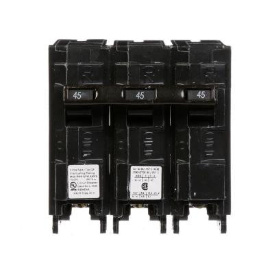 45 Amp Three-Pole Type QP Circuit Breaker