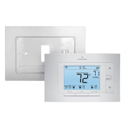 Sensi Wi-Fi Programmable Thermostat and Wall Plate Bundle