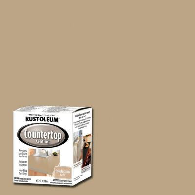 1-qt. Cobblestone Premix Countertop Coating Interior Paint (2-Pack)