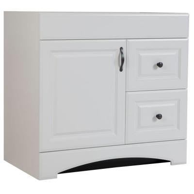 Regency 36 in. Vanity Cabinet Only in White