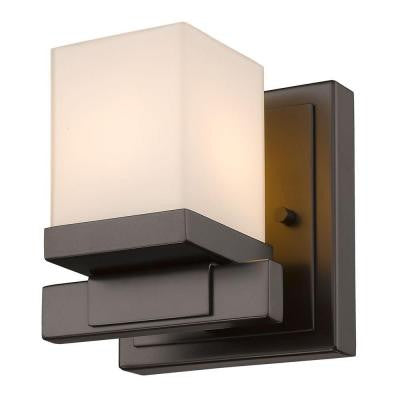 Mera 1-Light Bronze Sconce