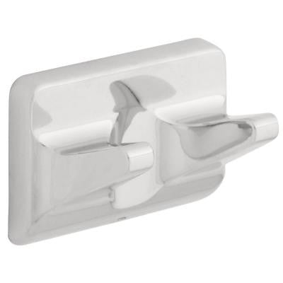 Ventura Double Robe Hook in Polished Chrome