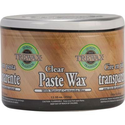 12.35 oz. Paste Wax Clear Can (2-Pack)