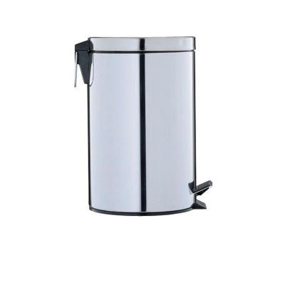 3.13 gal. Stainless Steel Step-On Touchless Trash Can