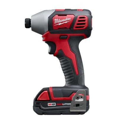 M18 1/4 in. Cordless Hex Impact Driver Kit with 1 Battery