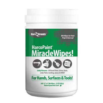 24 oz. Paint Miracle Wipes (60-Count)
