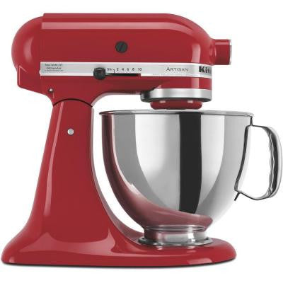 Artisan Series 5 Qt. Stand Mixer in Empire Red