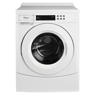 3.1 cu. ft. High-Efficiency Commercial Front Load Washer in White, ENERGY STAR