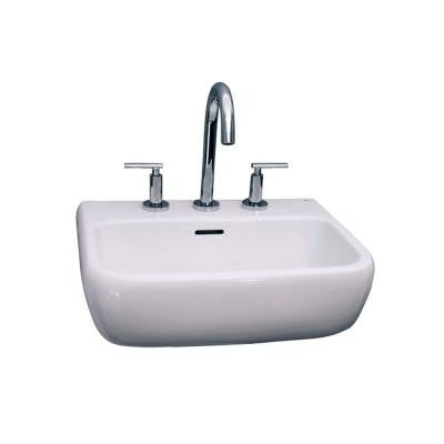 Metropolitan 520 Wall-Hung Bathroom Sink in White