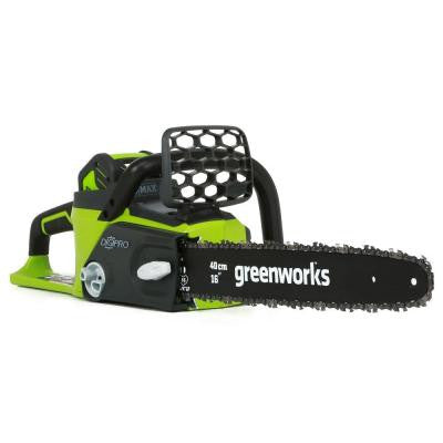 Digipro-Brushless 16 in. 40-Volt Lithium-Ion Cordless Chainsaw with 4.0 ah Battery and Charger