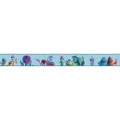 9 in. H Walt Disney Kids II Monsters Inc Border