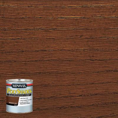 8 oz. PolyShades Mission Oak Gloss Stain and Polyurethane in 1-Step (4-Pack)