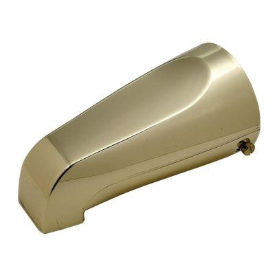 Mixet 5-1/8 in. Quikspout Filler Tub Spout, Polished Brass